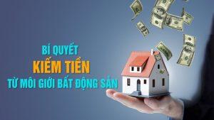 Khóa học bí quyết kiếm tiền từ môi giới bất động sản