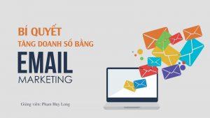 Khóa học bí quyết tăng doanh số bằng Email Marketing