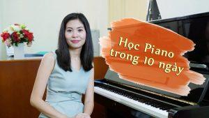 Tự học piano trong 10 ngày