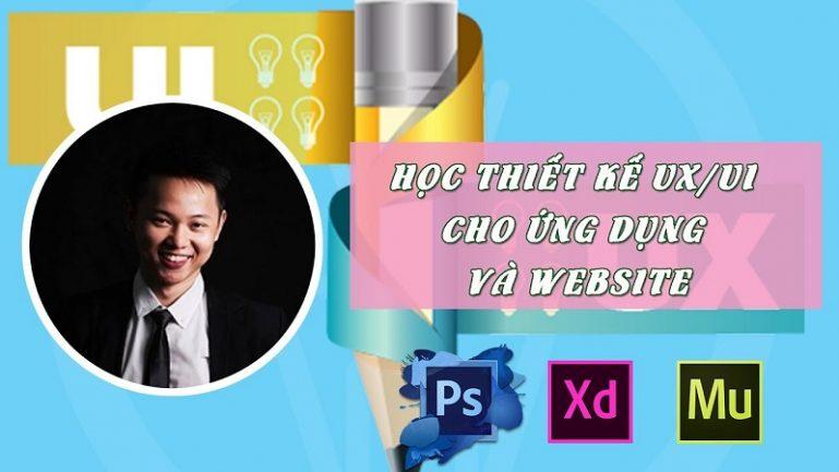 Khóa học thiết kế ux/ui cho ứng dụng và Website bằng Adobe Photoshop