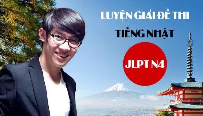 Khóa học Luyện giải đề thi tiếng Nhật JLPT N4