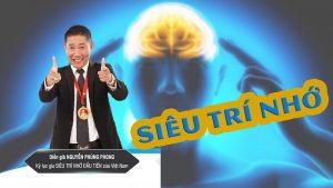 Khóa học bí quyết rèn luyện siêu trí nhớ cùng kỷ lục gia