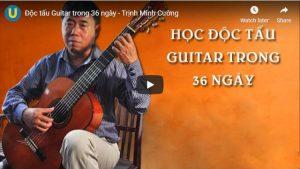 Khóa học độc tấu Guitar trong 36 ngày