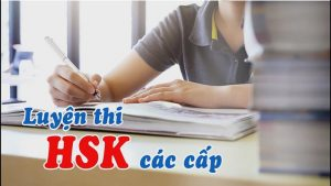 Khóa học luyện thi HSK các cấp