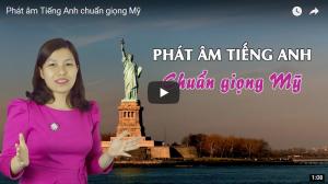 Khóa học phát âm tiếng Anh chuẩn giọng Mỹ