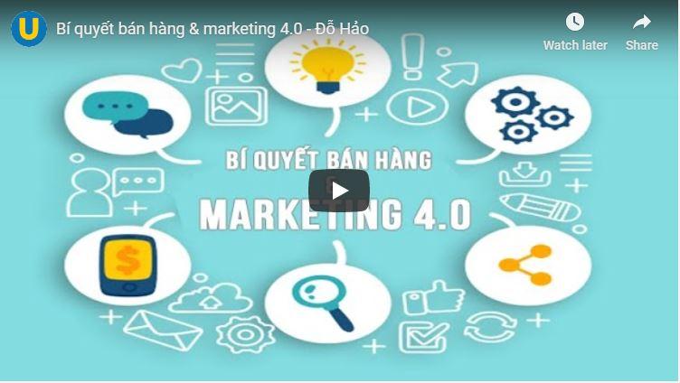 Bí quyết bán hàng & marketing 4.0