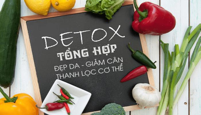 Khóa học Detox tổng hợp - Đẹp da - giảm cân - thanh lọc cơ thể