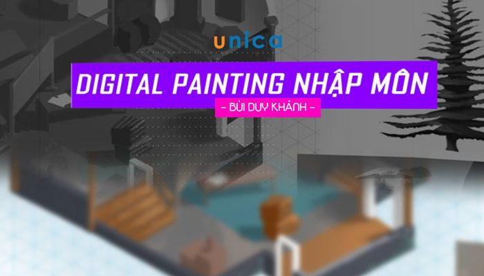 Khóa học Digital Painting Nhập Môn (Vẽ môi trường)