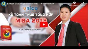 Khóa học kế toán thuế tổng hợp Misa 2019