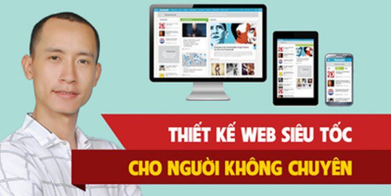 Khóa học làm Web siêu tốc cho người không chuyên
