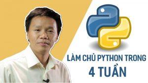 Khóa học làm chủ Python trong 4 tuần