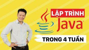 Khóa học lập trình Java trong 4 tuần