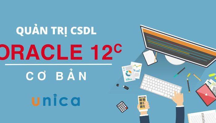 Khóa học quản trị CSDL Oracle 12c cơ bản