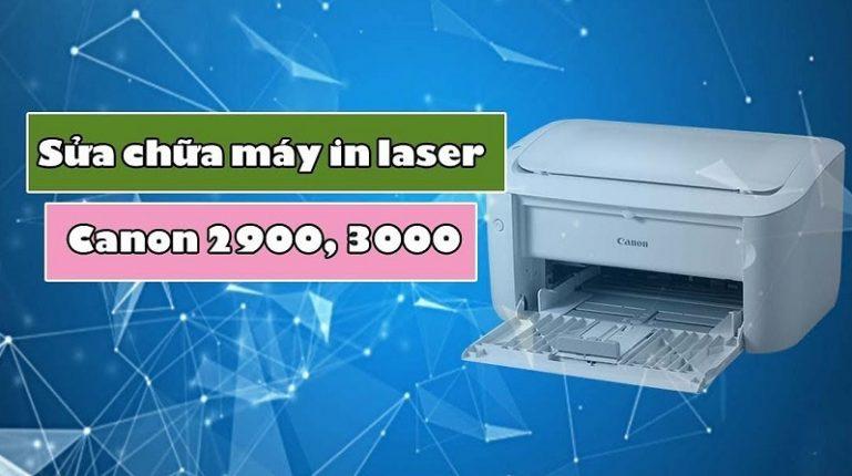 Khóa học sửa chữa máy in laser Canon 2900, 3000