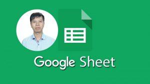 Khóa học thành thạo với Google Spreadsheets