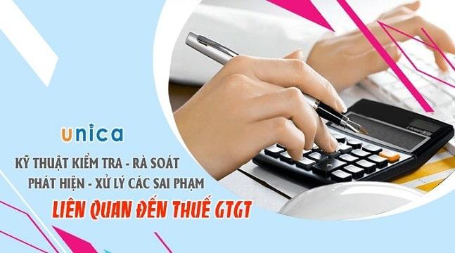 Kỹ thuật Kiểm tra – Rà soát – Phát hiện – Xử lý các sai phạm liên quan đến thuế GTGT