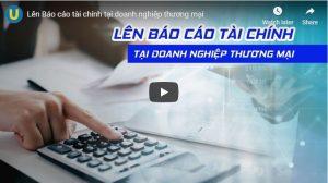 Lên Báo cáo tài chính tại doanh nghiệp thương mại