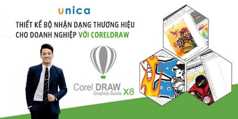 Thiết kế bộ nhận dạng thương hiệu cho Doanh nghiệp với CorelDraw