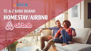 Khóa học kinh doanh AirBnB / Homestay từ A-Z