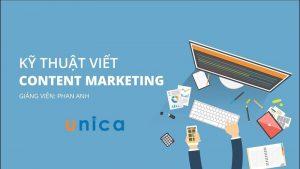 Kỹ thuật viết content marketing (PR - Quảng cáo)