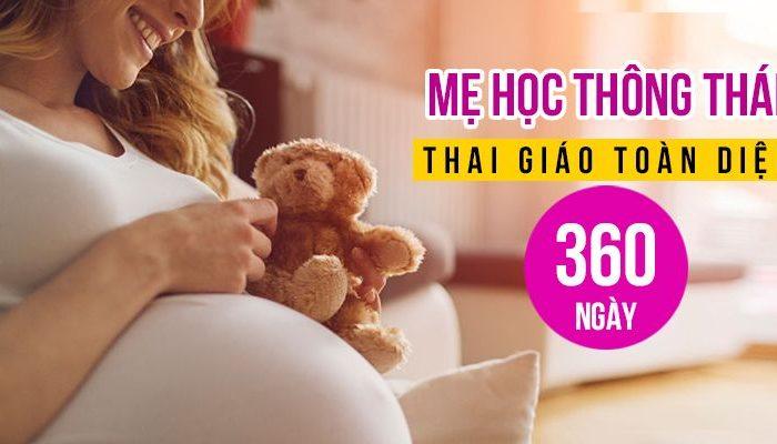 Mẹ học thông thái - Thai giáo toàn diện 360 ngày