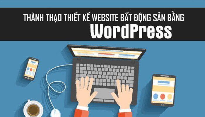 Khóa học thiết kế website bất động sản bằng WordPress