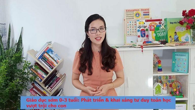 Khóa học Phát triển & khai sáng tư duy toán học vượt trội cho con