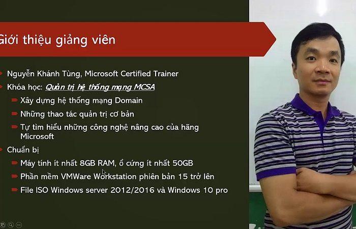 Khóa học quản trị hệ thống Windows Server và Ubuntu Linux