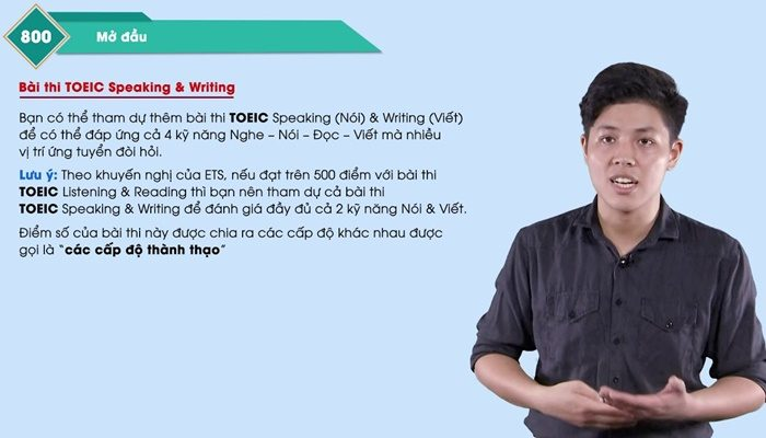 Khóa học 30 days for 800 TOEIC Listening