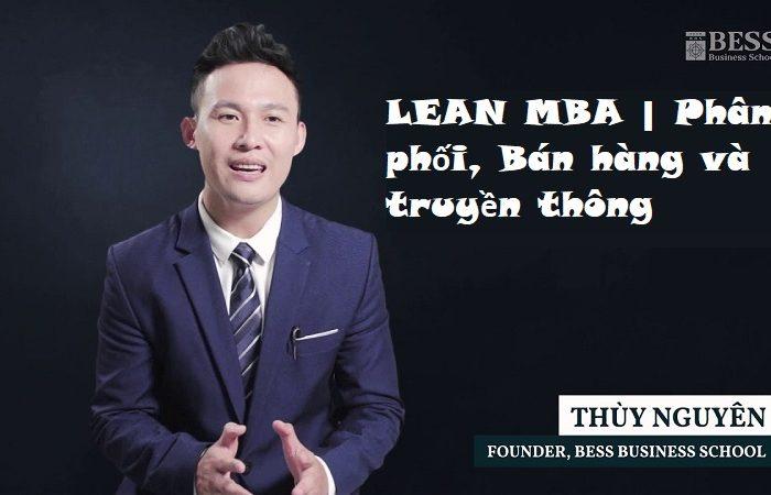 Khóa học LEAN MBA - Phân phối, Bán hàng và truyền thông