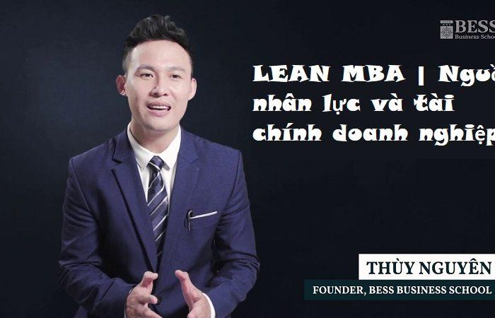 Khóa học LEAN MBA - Nguồn nhân lực và tài chính doanh nghiệp