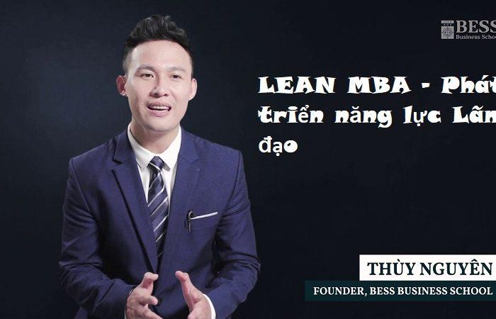 Khóa học LEAN MBA - Phát triển năng lực Lãnh đạo