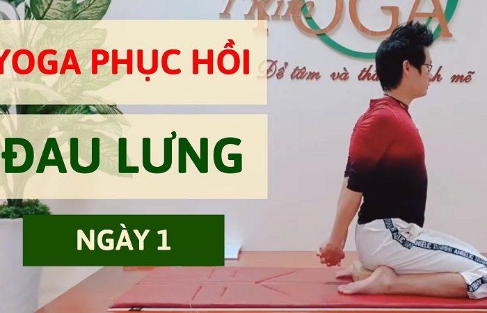 Khóa học 21 Ngày Yoga Trị liệu đau lưng