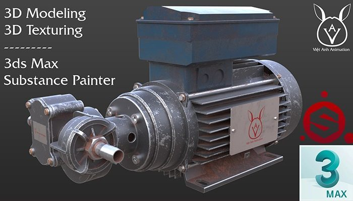 Khóa học dựng hình 3D Model với 3ds Max & Substance Painter