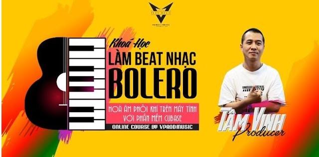 Khóa học tự Làm beat nhạc Bolero trên phần mềm Cubase