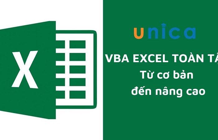 VBA Excel toàn tập từ cơ bản đến nâng cao