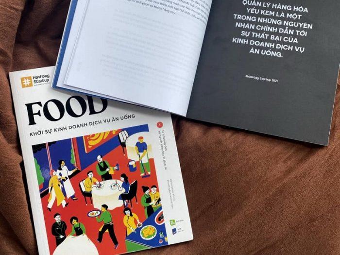 Review sách Hashtag #04: Food - Khởi Sự Kinh Doanh Dịch Vụ Ăn Uống (Bộ 2 Cuốn)