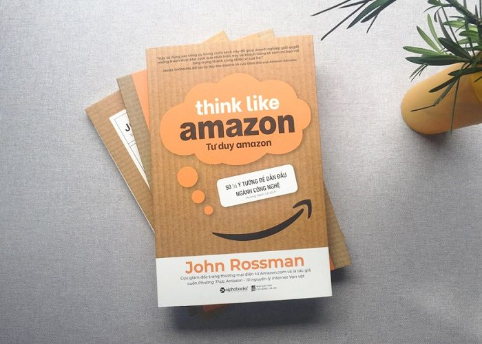Review sách Tư Duy Amazon - Think Like Amazon