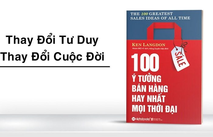 Review sách 100 Ý Tưởng Bán Hàng Hay Nhất Mọi Thời Đại